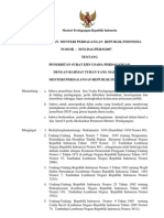Permendag No. 36:M-DAG:PER:9:2007 Tentang Penerbitan Surat Izin Usaha Perdagangan