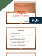 CLASE Nº 1-LA GESTIÓN Y CONTROL DE COSTOS