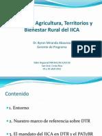 Programa Agricultura, Territorios y Bienestar Rural del IICA