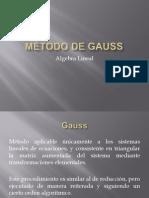 Solucion de SEL x Gauss