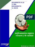 Reglamento Medicamentos Bolivia