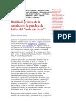 Banalidad y Teoria de La Simulacion, Fabian