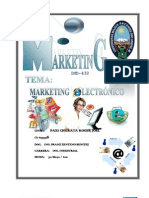 Informe de Marketing Electronico