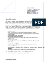 3hd media finance project description
