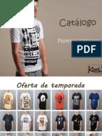 Catálogo de playeras y blusas