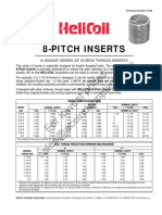 HeliCoil NPT Inserts 8UN 2