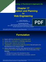 Chapter 17 - Formulación y planeación para ingeniería Web