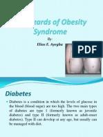 30 Hazards of Obesity Syndrome