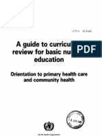 Curriculum in Nursing