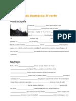 Ejercicios de Gramática El verbo