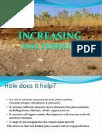 Increasing Soil Fertility