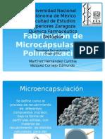 Microcapsulas por Polimerización