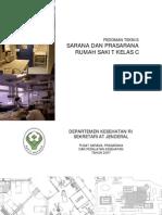 Pedoman Teknis Fasilitas RS Kelas C-Complete