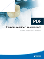 Cement Retained Restorations