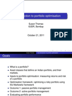 An introduction to portfolio optimization