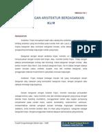PERANCANGAN-ARSITEKTUR-BERDASARKAN-IKLIM.doc
