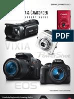 Camera Video Springsummer13 Brochure