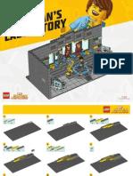 Iron Man Laboratory Building Instructions