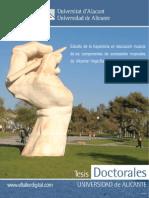 Estudio de La Trayectoria en Educacion Musical de Los Componentes de Sociedades Musicales de Alicante Vega Baja Medio y Alto Vinalopo 0