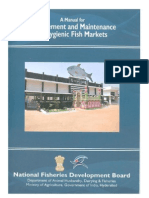 Management and Maintenance of Hygienic Fish Markets