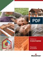 Sistemul de Caramizi Porotherm