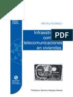Infraestructura común de telecomunicaciones en viviendas. Universidad Politécnica de Cartagena