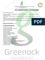 Autodesk Inventor - Formation Tôlerie