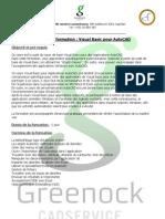 Visual Basic Pour AutoCAD Luxembourg - Belgique - Lorraine