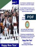 Felicitare FIEP Romania