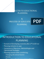 Process of Educational Planning in Pakistan[1]