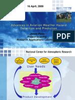 Advances in Aviation Weather Hazard