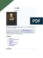 06 Shakespeare's Life