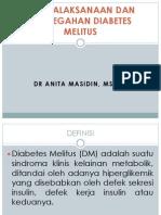Pencegahan Dan Penatalaksaan DM
