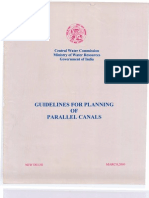 Guidelines for Planning for Parallel Canals_2000_CWC