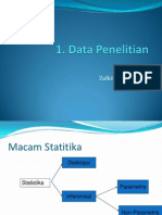 1. Data Penelitian