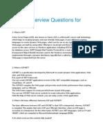 DotNet Interview Questions