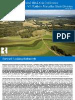 5.21.13 UBS Final Presentation Range Resources