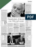 Intervista Pietro Giamborino Il Quotidiano Della Calabria 03.05.2013