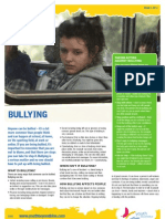 Youthbeyondblue Fact Sheet 20 - Bullying - WEB (2)