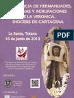 Cartel Convivencia de Hermandades La Veronica