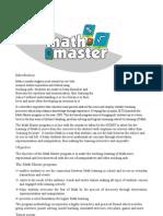 Math Master New