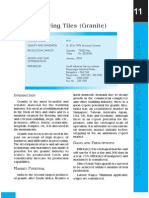 Project Report on Granite