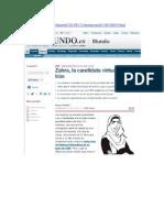 Zahra, la candidata virtual de Irán