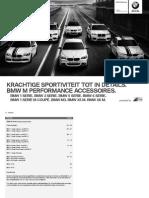 BMW M Performance Accessoires Prijslijst 03 2013
