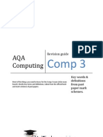 COMP3 Revision Definitions
