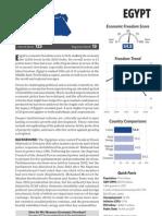 Egypt Economic indicators 2013