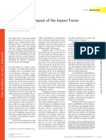 Eliminating the impact of the Impact Factor