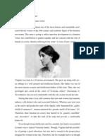 Virginia Woolf as a Feminist Writer