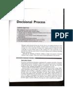 Decisional Process