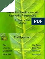 Preventive+Healthcare+an+Ayurvedic+Perspective